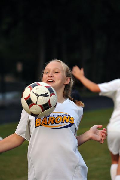 BCC Girls Varsity Soccer 2009
