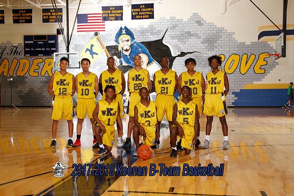2017-2018 Boys B-Team Basketball
