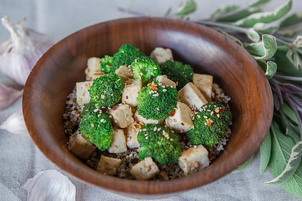 2017.06.05 Sesame Tofu Broccoli Stir Fry