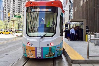 Detroit QLine Streetcar