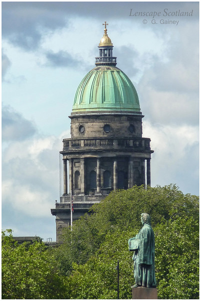 West Register House dome from George Street