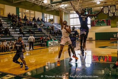 Boys Varsity Basketball v  Flint Hill 12/27/18