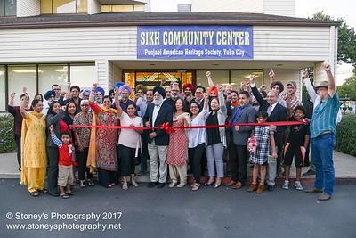 10-26-17 Ribbon Cutting at Punjabi American Heritage Society at Sikh Community Center