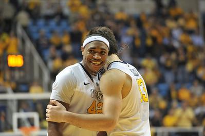 28063 WVU Men's Basketball Georgetown January 2012