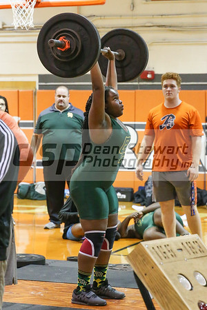 1-24-19 Oak Ridge Girls Weight Lifting