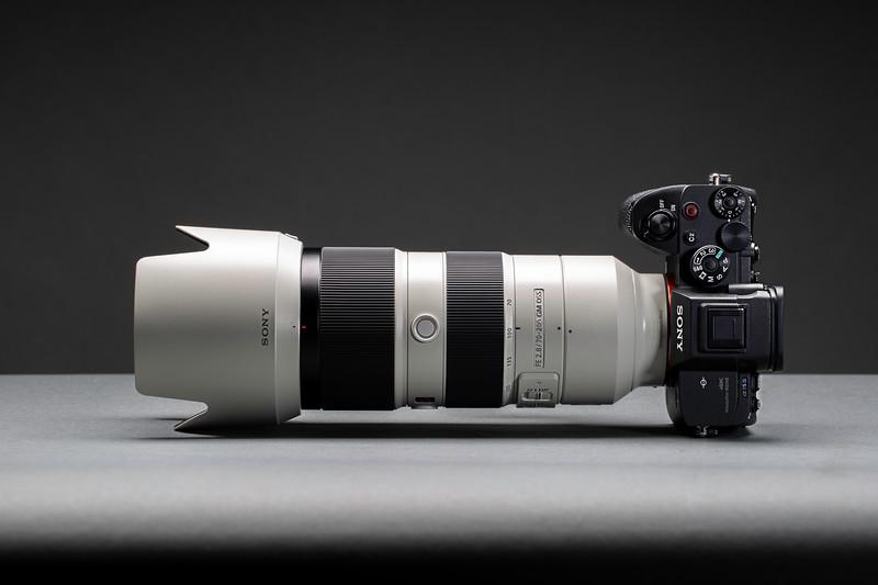 Sony Alpha A7 III Digital Camera with 70-200mm Lens