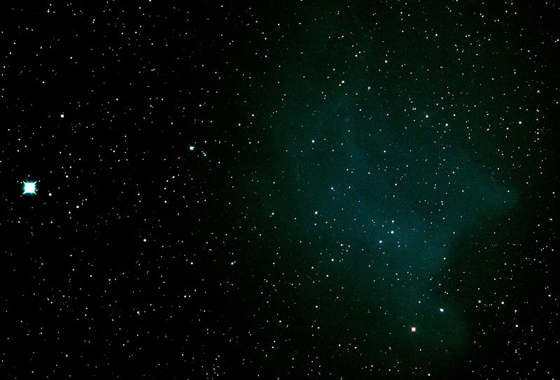 IC2118 Witch Head Nebula - 21/12/2011 (Processed cropped stack)