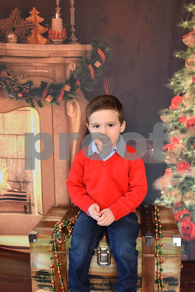 Elizabeth's Kids 2017 Christmas Pics