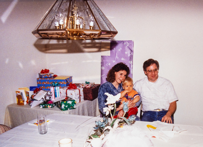Austin's first birthday party