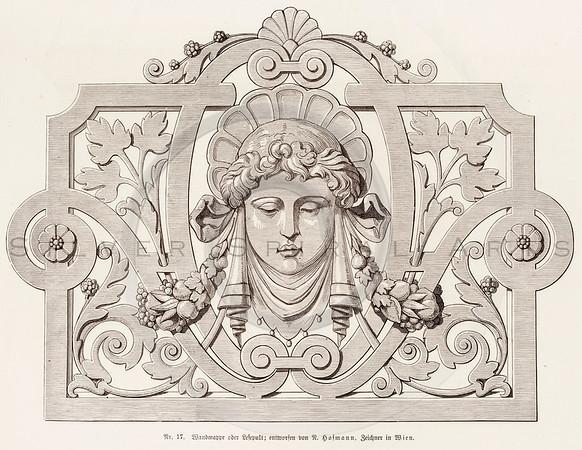 Vintage Ornament Lettering Design and Embellishment