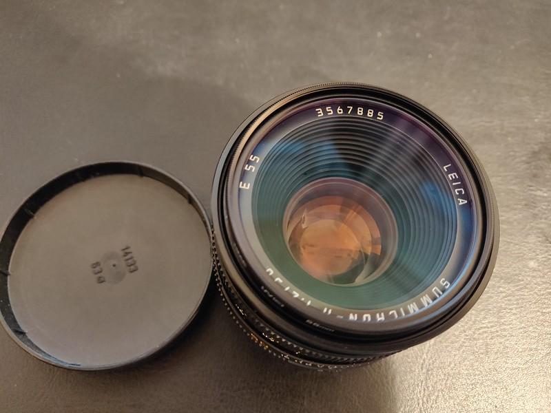 Leica R Summicron 50 mm 2.0 II - Serial 3567885 006.jpg