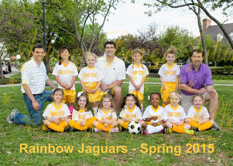 Rainbow Jaguars - Spring 2015