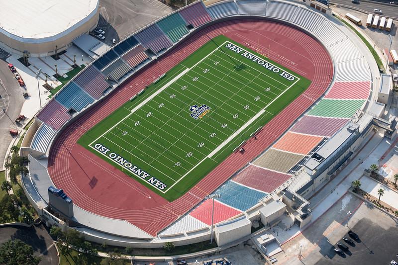 09/23/2014 093434 -- San Antonio, TX -- © Copyright 2014 Mark C. Greenberg  Alamo Stadium