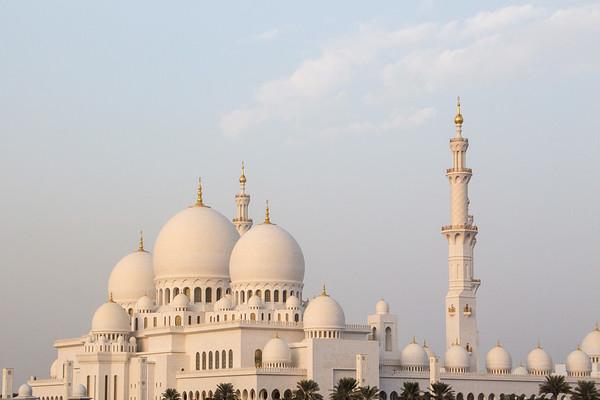 Sheikh Zayed Mosque, Abu Dhabi - January, 2016
