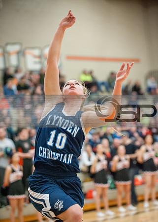 2015-1-30 Lynden Christian Basketball at Blaine