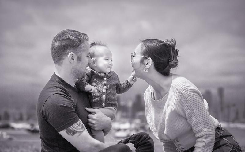 Isla, Sarah & Michael