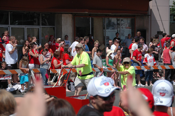 Red Wing Stanley Cup Parade 2008