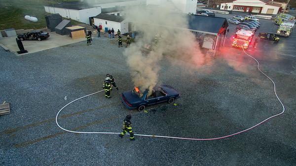 Car Fire Training