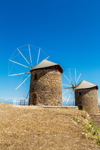Windmills On Patmos