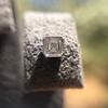 .54ctw Asscher Cut Diamond Bezel Stud Earrings, Platinum 13