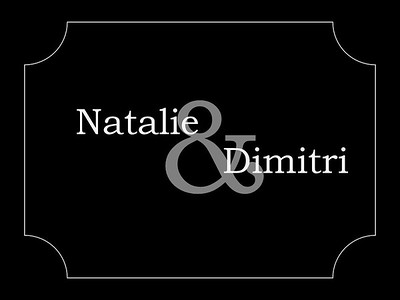 Natalie & Dimitri Wedding