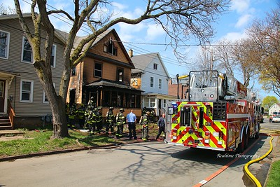 Structure Fire - Rochester, NY - 04/14/2021