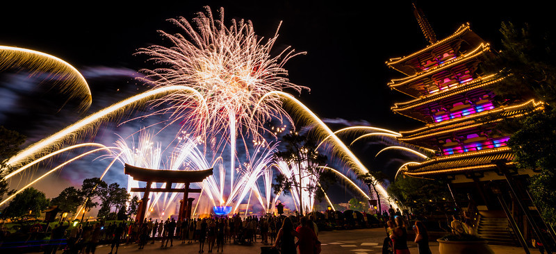 IllumiNations: Reflections of Earth Fireworks
