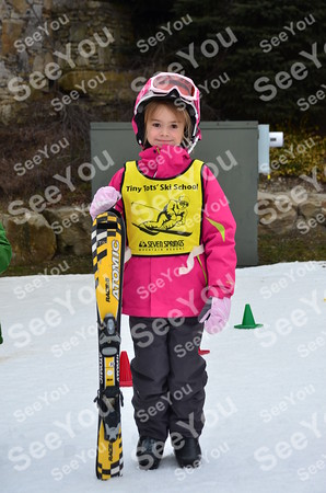 Tiny Tots  Ski School 3-17-13