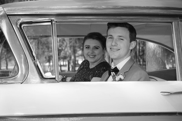 Sarah & Hunter | CCHS Prom 2018