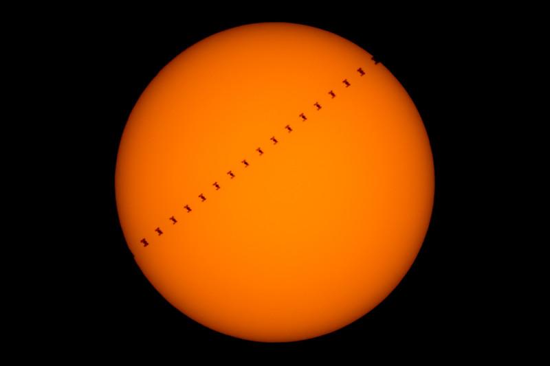 ISS Solar Transit