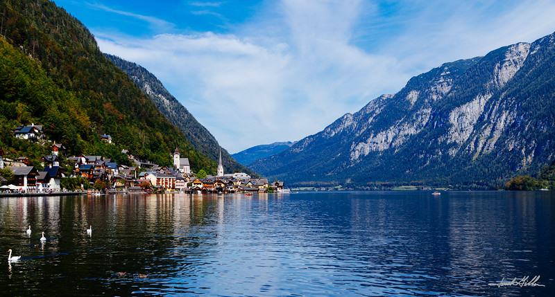 Lake Hallstatter and Hallstatt