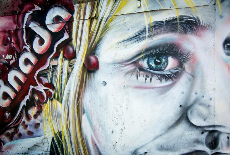 More murals, more colour