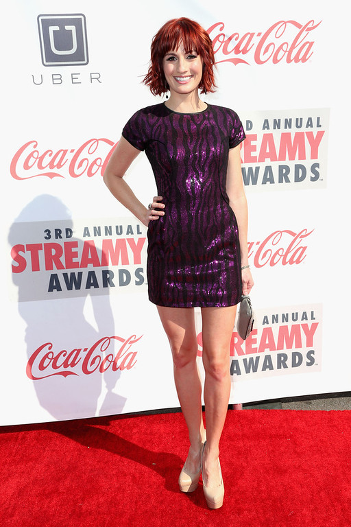 . Actress Alison Haislip attends the 3rd Annual Streamy Awards at Hollywood Palladium on February 17, 2013 in Hollywood, California.  (Photo by Frederick M. Brown/Getty Images)