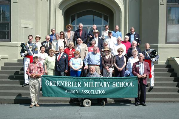 Greenbrier Military School Reunion at FUMA
