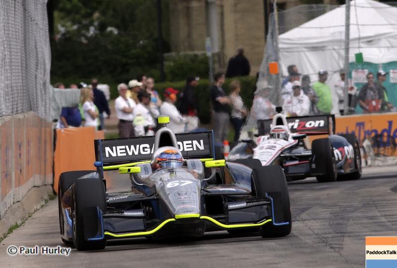 June 2: Josef Newgarden during the Chevrolet Detroit Belle Isle Grand Prix.