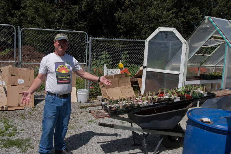 Bringing more plants out of the greenhouses