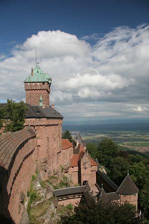 Haut Koenigsburg in Alsace
