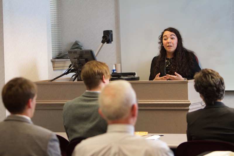 Gardner-Webb University's Life Of The Scholar (LOTS) participants present their thesis projects; Spring 2016. Mariana Mellado, Running to the Towers: Examining the Oral Histories of 9/11 First Responders