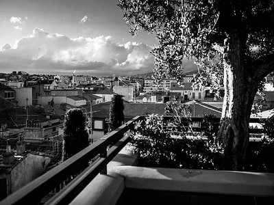 Rooftop in Cannes