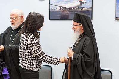 Archbishop Ieronymos Arrival