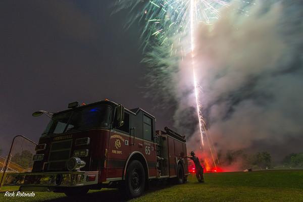 PFD Fireworks - 2018