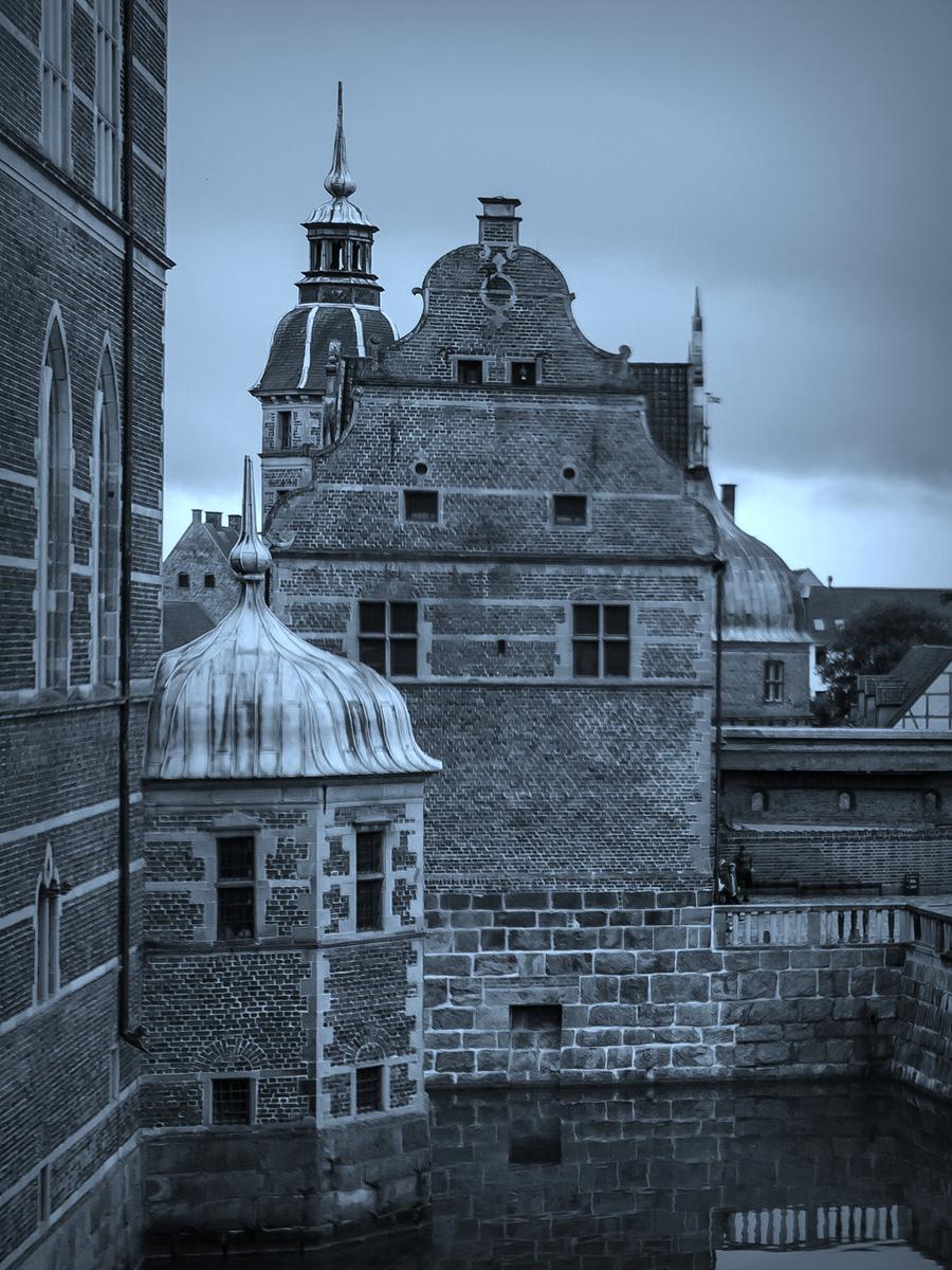 丹麦腓特烈堡城堡,看的令人赞叹