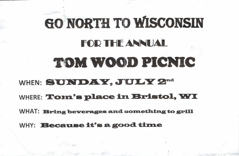 20170702 Annual TOM WOOD PICNIC