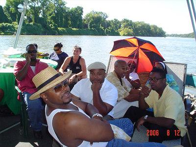 The Spa Summer Set Cruise on the Sacramento River