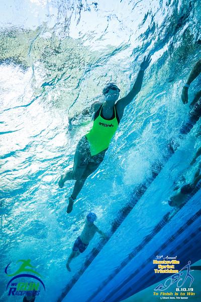 2019 Huntsville Sprint Tri Swim