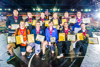 Awards, All-Americans, Podium, Officials, etc - 2016 NCWA National Championships
