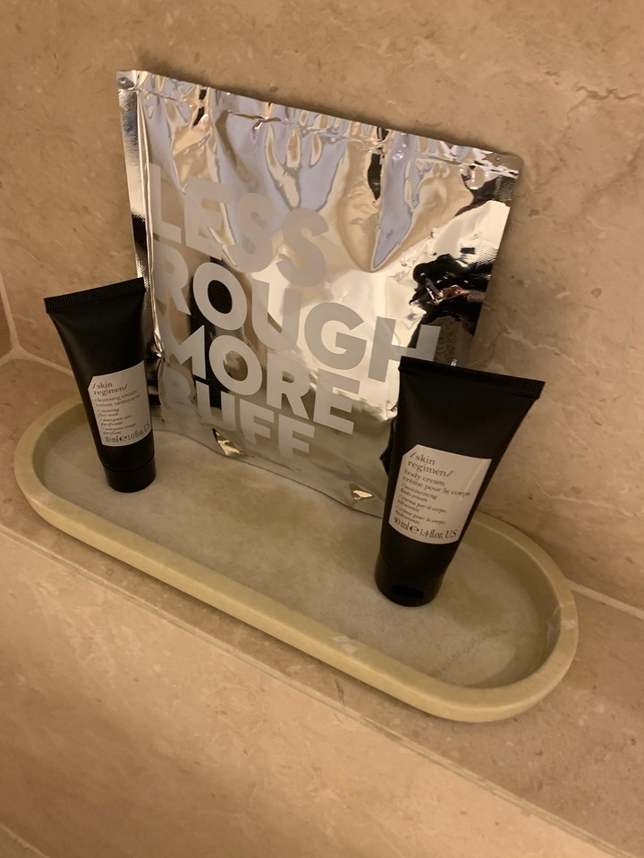 Toiletries at the W Sentosa Hotel Singapore