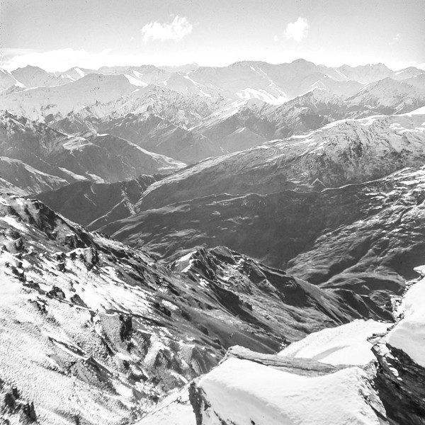 1962 Looking over the back from the top of Treble Cone Ski field.jpg