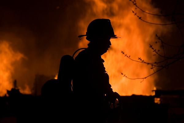 Bartett April 22, 2008 - 3 Alarm residential blaze