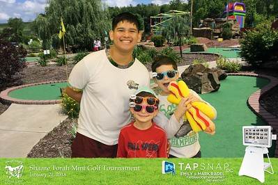 Shaare Torah Mini Golf Tournament 2018